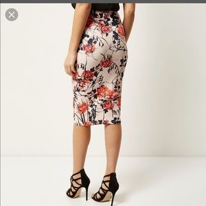 Beautiful Floral Skirt****